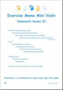 Mini Violin example 2